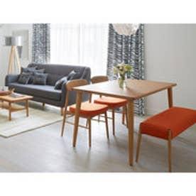 IDC OTSUKA/大塚家具 ダイニングテーブル ユノ レッドオーク材 W1350