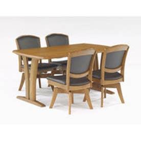 IDC OTSUKA/大塚家具 回転椅子(アーム) ウルゴ2 ミディアムオーク ダークブラウン (ミディアムオーク)