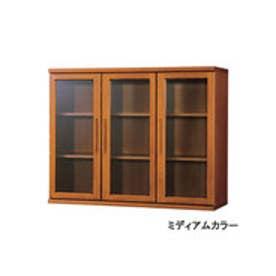IDC OTSUKA/大塚家具 書棚 OF-120 開戸 ミディアム (ミディアムブラウン)【返品不可商品】