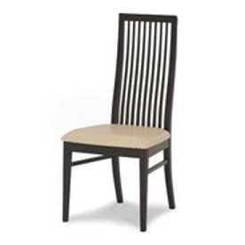 IDC OTSUKA/大塚家具 椅子ボラーレ2PVCアイボリーDBオーク (ダークブラウン)【返品不可商品】