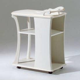 IDC OTSUKA/大塚家具 ワゴン カンティーニュ ホワイト (ホワイト)