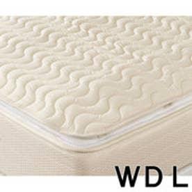IDC OTSUKA/大塚家具 ベッドパッド ウォシュロン2 ゴム付 WDLサイズ (ホワイト)【返品不可商品】