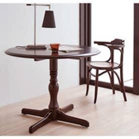 IDC OTSUKA/大塚家具 丸テーブル T-5651 WN (ウォールナット)