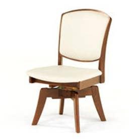 IDC OTSUKA/大塚家具 回転椅子 ウルゴ2 ミディアムオーク アイボリー (ミディアムオーク)