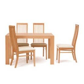 IDC OTSUKA/大塚家具 椅子ボラーレ2PVCアイボリーWOオーク (ホワイトオーク)