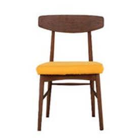 IDC OTSUKA/大塚家具 椅子 ユノA カバー布#2 DB色 イエロー (イエロー)【返品不可商品】