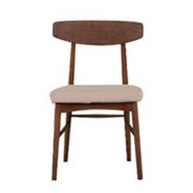 IDC OTSUKA/大塚家具 椅子 ユノA カバー布#2 DB色 アイボリー (アイボリー)【返品不可商品】