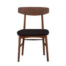IDC OTSUKA/大塚家具 椅子 ユノA カバー布#2 DB色 ブラック (ブラック)【返品不可商品】