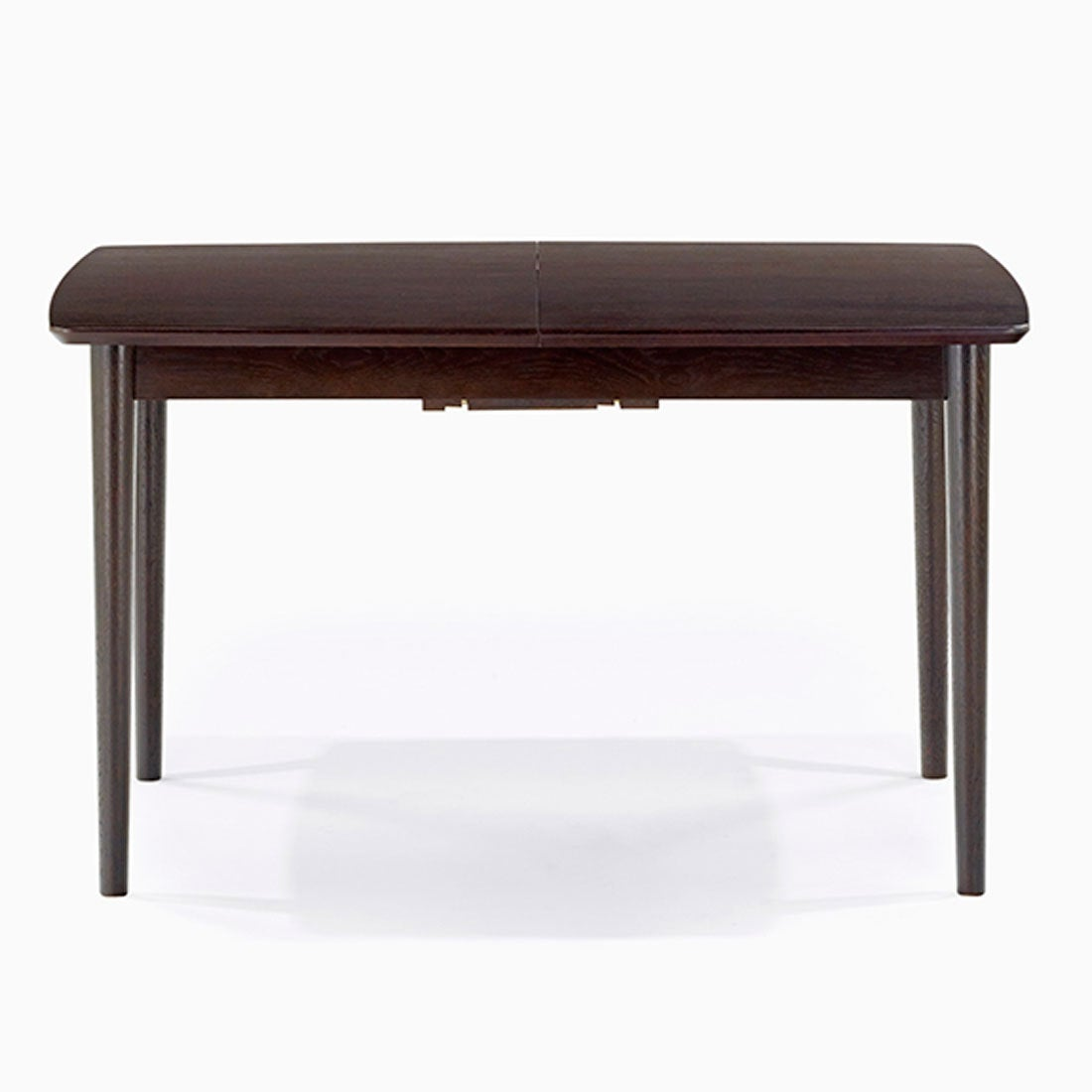 IDC OTSUKA/大塚家具 ダイニングテーブル(伸長式) ウイング DB 1250タイプ (ダークブラウン)【返品不可商品】