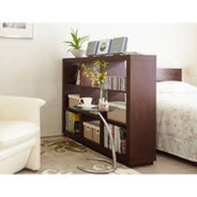 IDC OTSUKA/大塚家具 オープンシェルフ アプト ロータイプ 巾1000 DB (ダークブラウン)