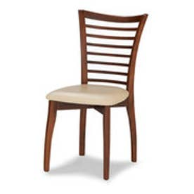 IDC OTSUKA/大塚家具 椅子 SI PVC IV/WN (ウォールナット)【返品不可商品】
