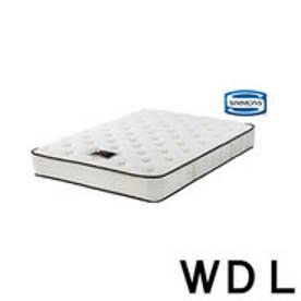 IDC OTSUKA/大塚家具 マットレス 6.5NFグレーシャスN (IDC1404A) ワイドダブルロング(WDL) (ホワイト)