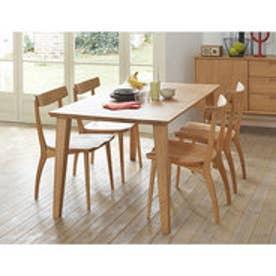 IDC OTSUKA/大塚家具 ダイニングテーブル フィル3 角天板/木製脚 W1500/オーク材WO色(ホワイトオーク)