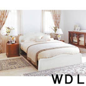 IDC OTSUKA/大塚家具 ベッドフレーム カンティーニュ 引出無 ワイドダブルロング(WDL) ホワイト (ホワイト)