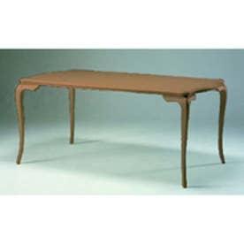 IDC OTSUKA/大塚家具 テーブル カンティーニュ 1800 ホワイト色 アンティーク色 (アンティーク色)