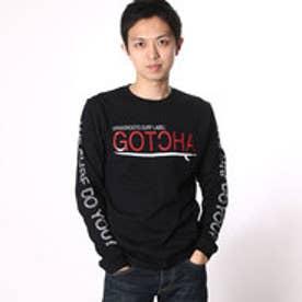 ガッチャ Gotcha 80sロンTee (クロ)
