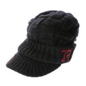 ガッチャゴルフ Gotcha Golf ツバ付きニット帽 (クロ)