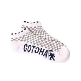 ガッチャゴルフ Gotcha Golf フェイクレイヤードソックス (L.グレ-)