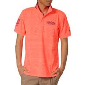 ガッチャゴルフ Gotcha Golf ドライ鹿の子ナバホネオンポロ (オレンジ)