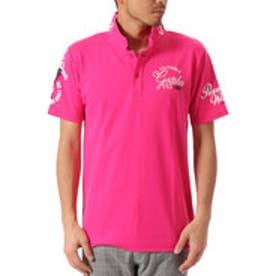 ガッチャゴルフ Gotcha Golf 吸水速乾BASICスムースポロ7 (ピンク)