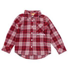 ガッチャキッズ Gotcha Kid's KIDS LIMITEDチェックシャツ (アカ)