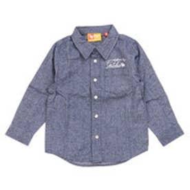 ガッチャキッズ Gotcha Kid's KIDS LIMITEDオックスシャツ (ネ-ビ-)