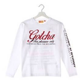 ガッチャキッズ Gotcha Kid's KIDS 太陽中肉ロンTee (シロ)