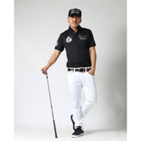 カールカナイゴルフ Karl Kani Golf モノグラムDRYスーパーストレッチ総柄パンツ (シロ)