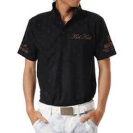 カールカナイゴルフ Karl Kani Golf ドライモノグラムPOLO (クロ)