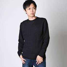 エムシーディー More Core Division KT USフラッグ セーター (クロ)