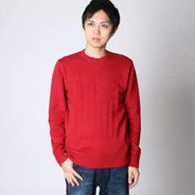 エムシーディー More Core Division KT USフラッグ セーター (D.アカ)