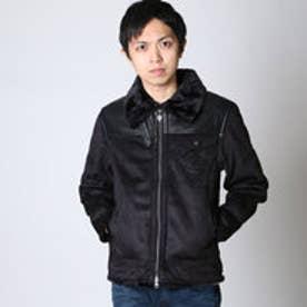 エムシーディー More Core Division フェイクムートンJKT (クロ)