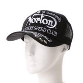 ノートン Norton スタッズ 刺繍キャップ (クロ)