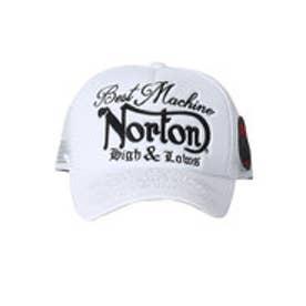 ノートン Norton モノトーンメッシュキャップ (シロ)