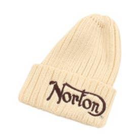 ノートン Norton 2つ折りニット帽 (シロ)