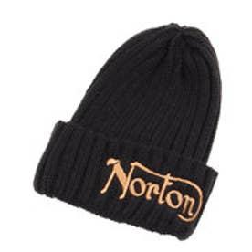 ノートン Norton 2つ折りニット帽 (クロ)