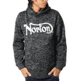 ノートン Norton ポリエステル杢プルパーカー (クロ)