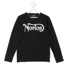 ノートン Norton イングランドモチーフ天竺ロンTee (クロ)