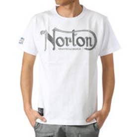 ノートン Norton 杢調ラメ刺繍Tee ? (オフ)