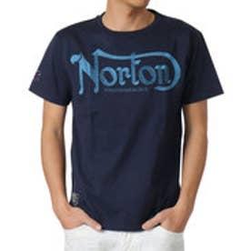 ノートン Norton 杢調ラメ刺繍Tee ? (ネ-ビ-)