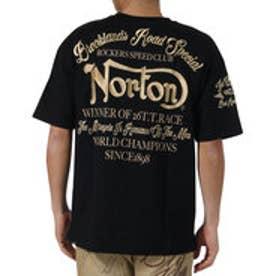 ノートン Norton ビッグシルエットヘビーウエイトポケ付きTee (クロ)