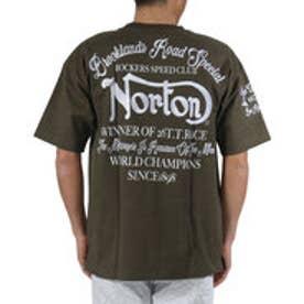 ノートン Norton ビッグシルエットヘビーウエイトポケ付きTee (カ-キ)