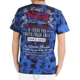 ノートン Norton ムラ染めTee (R.ブル-)