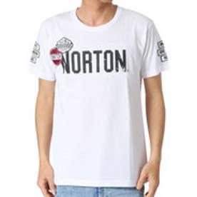 ノートン Norton ライダーワッペンTee (シロ)