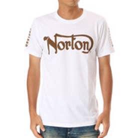 ノートン Norton ドライベーシックアームプリントTEE (オフ)