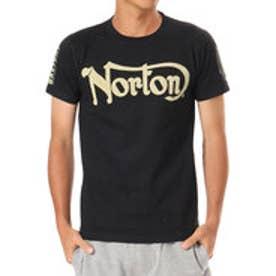 ノートン Norton ドライベーシックアームプリントTEE (クロ)