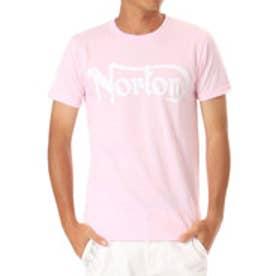 ノートン Norton ドライベーシックアームプリントTEE (Bピンク)