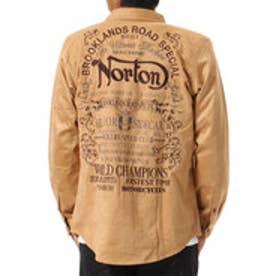ノートン Norton ポリスウェードシャツ (キャメル)