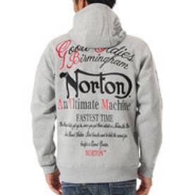 ノートン Norton 防風ベーシックハイネックジップパーカー (M.グレ-)