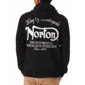 ノートン Norton 撥水加工ライダースパーカー (クロ)